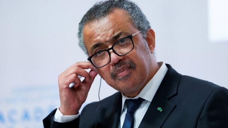 Tedros Adhanom Ghebreyesus, director de la OMS.